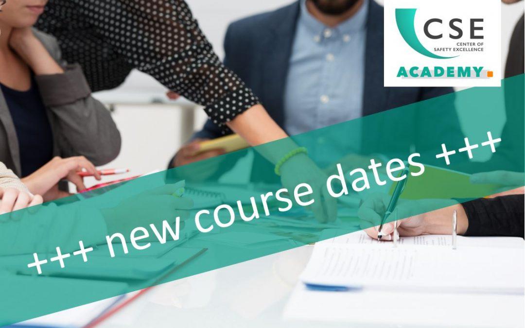 CSE Academy – Neue Kurstermine