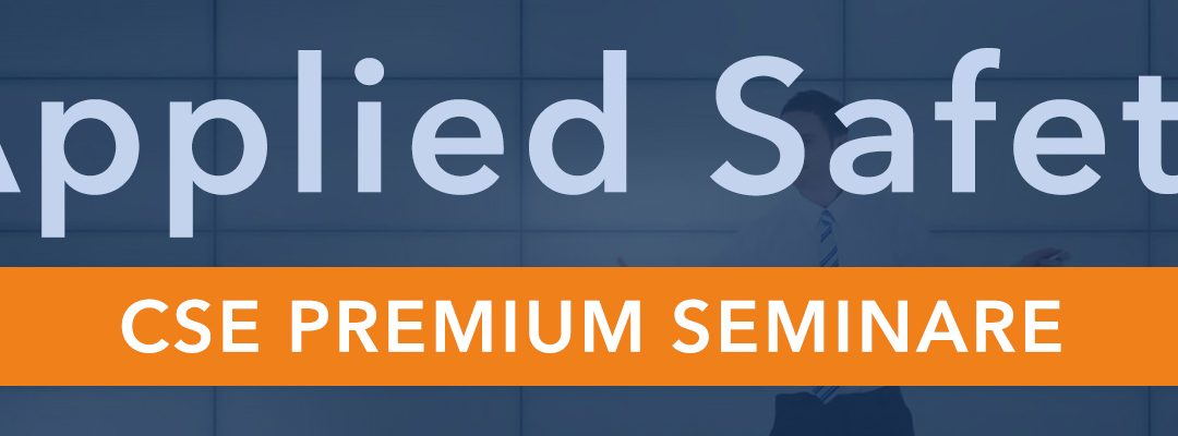 Applied Safety Premium Seminare