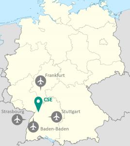 CSE: Flughäfen in der Umgebung